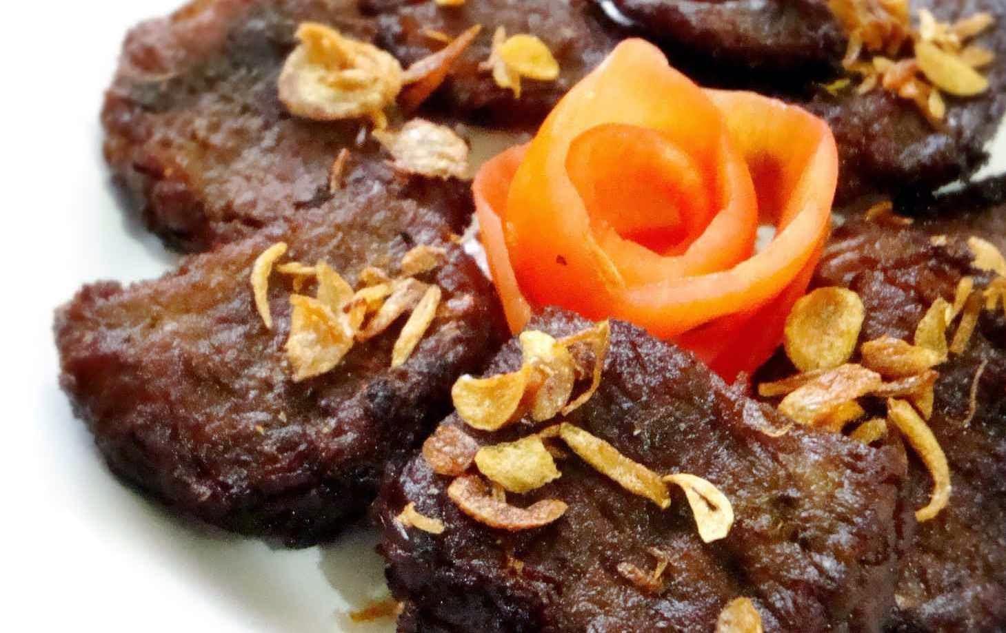 empal gepuk, resep empal daging, empal gentong, cara membuat empal