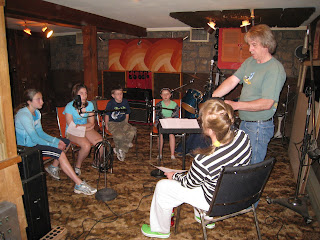 'Kick The Can' at Twain Recording, West Milford, NJ - 3