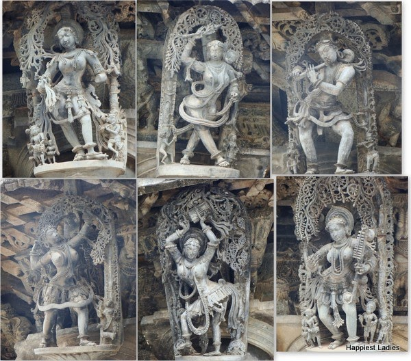 sculptures hoysala belur temple