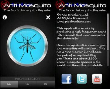 Aplikasi Smartphone Mampu Mengusir Nyamuk