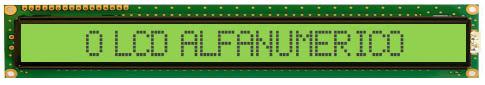 O LCD Alfanumérico