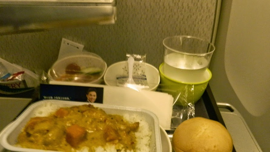 cathay pacific chicken curry