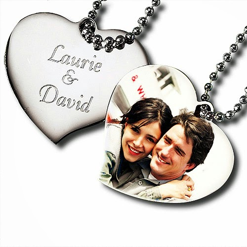Personalised Photopendant Herat Necklace Birtday Gift For Girlfriend