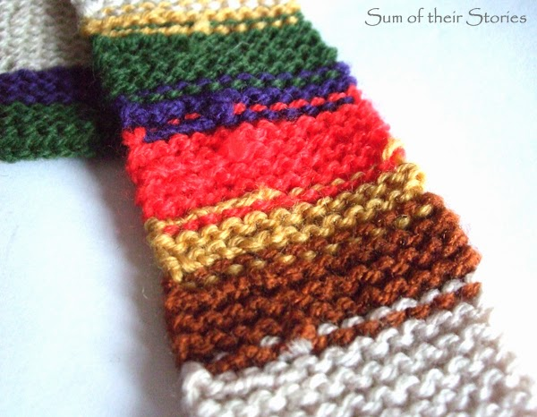 The 4th Doctor Who's Scarf Tie Pattern