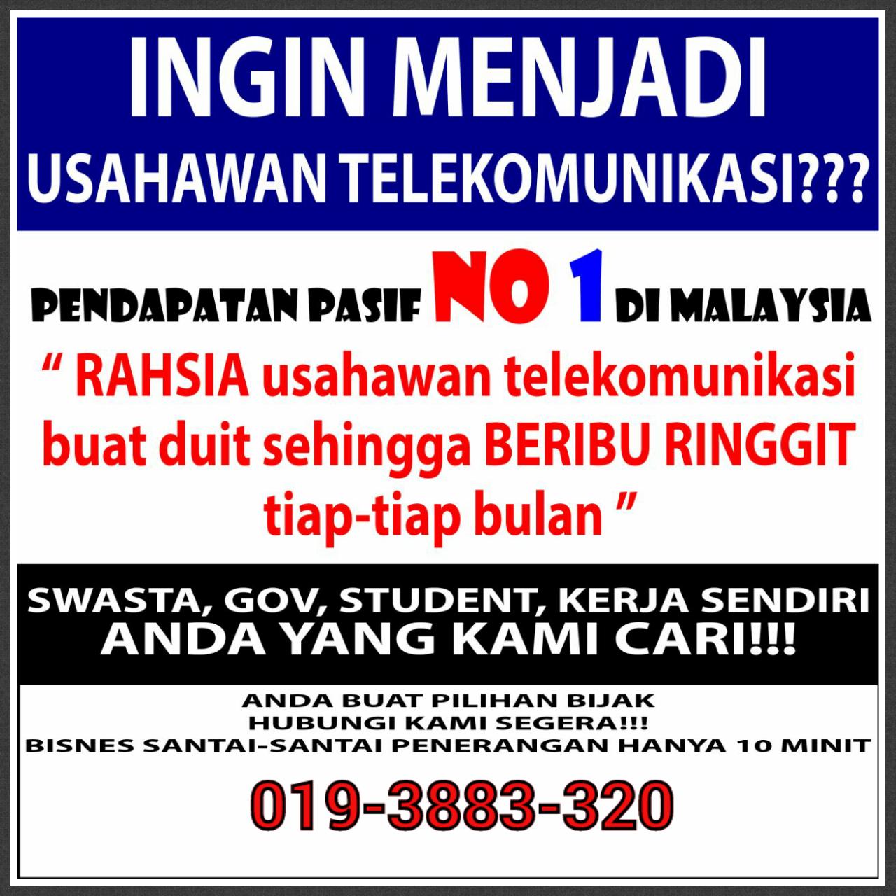 Bisnes Modal RM90 ?