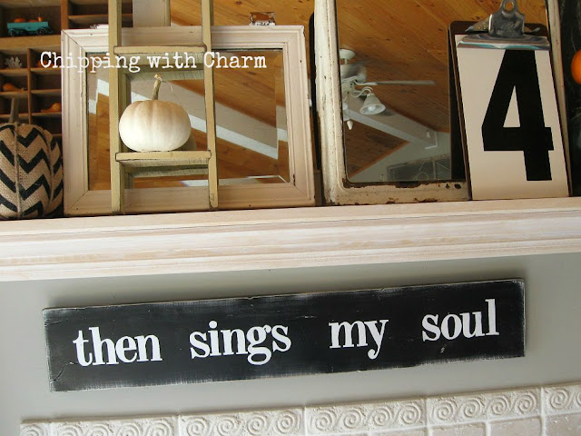 Chipping with Charm: Then Sings my Soul Sign from Le Junc...www.chippingwithcharm.blogspot.com