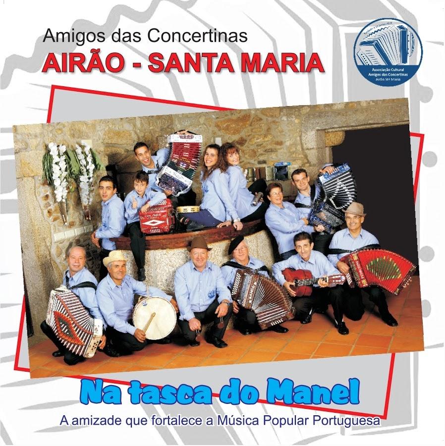 Amigos Das Concertinas Airão - Santa Maria - Na Tasca do Manel (2010) Frente