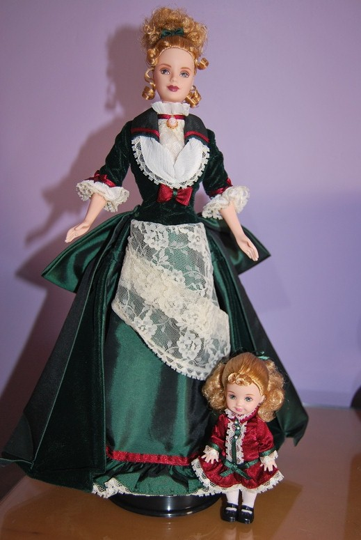 Victorian Holiday Barbie Y Kelly Paperblog