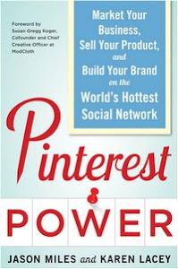 Title cover image - Pinterest Power: Market Your Business, Sell Your Product, and Build Your Brand