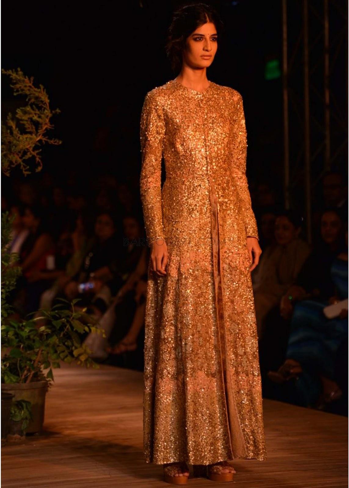 Sabyasachi Collection at PCJ Delhi Couture Week 2013 ... Sabyasachi Anarkali Suits Collection 2013