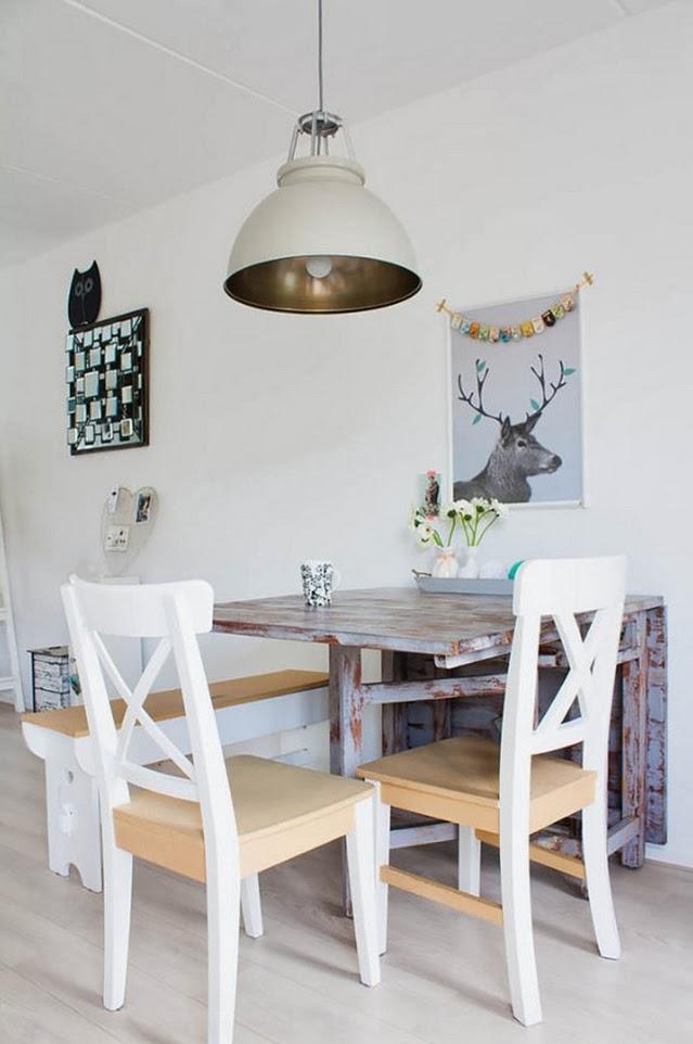Estilo Nrdico Vintage En Una Casa Holandesa Trs