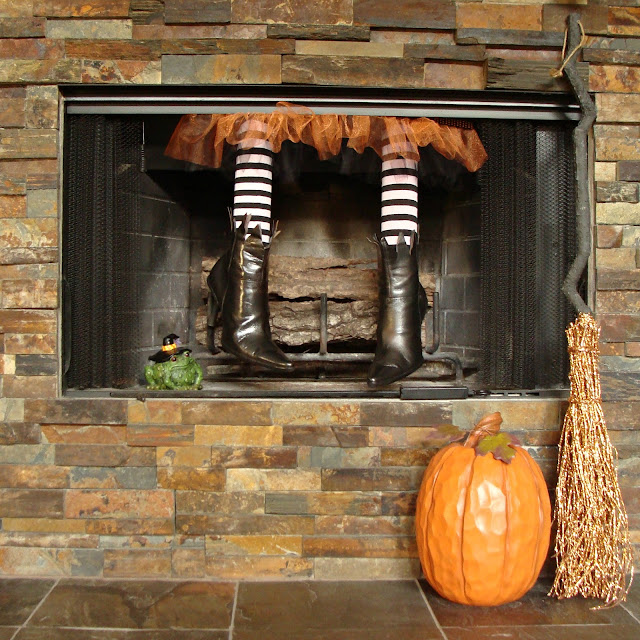 Halloween, Witch Legs, Halloween Decorations