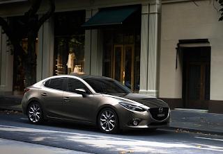 2014 Mazda 3 sedan bronze