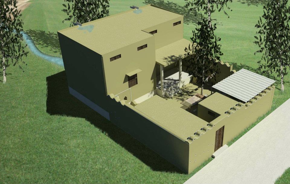 Ordinary Front Design Of House In Village Part - 14: Village House Design In Pakistan