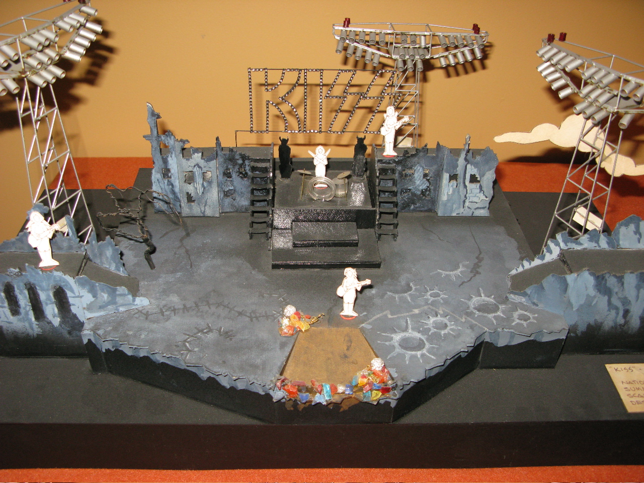 Kiss Dynasty Tour Stage