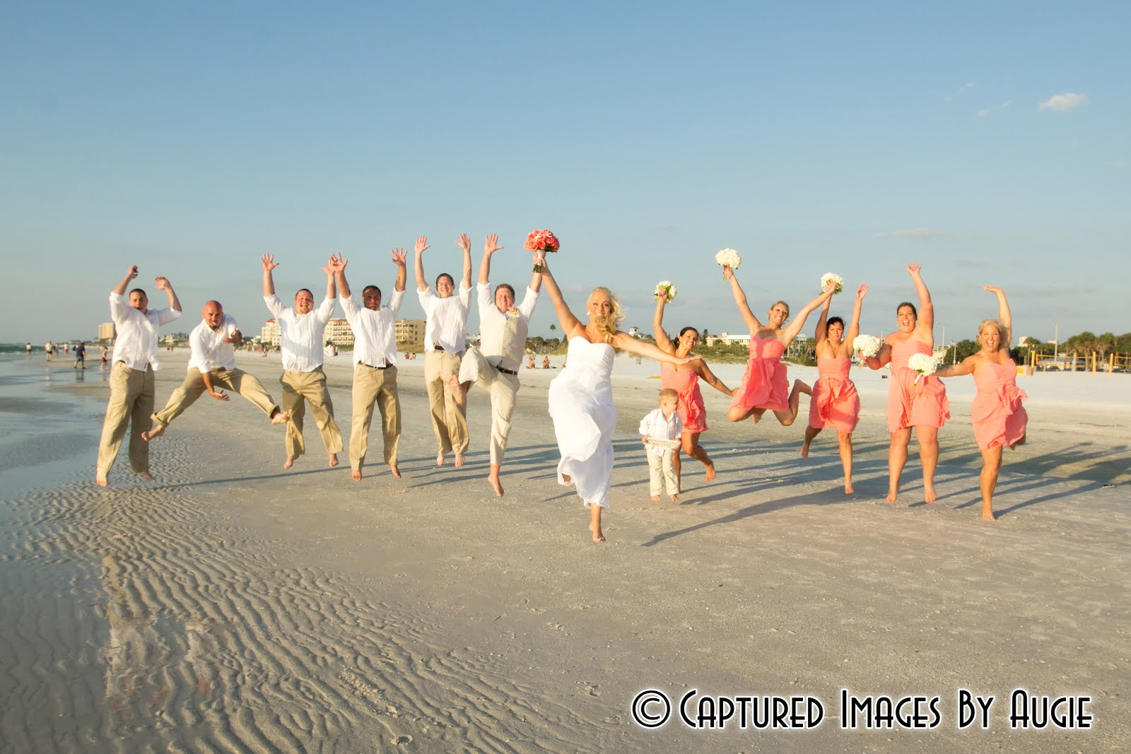 Sandpearl resort beach wedding