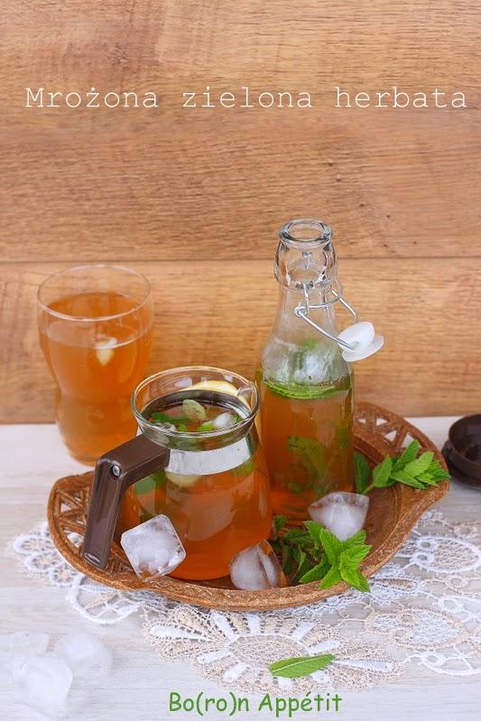 Mrożona zielona herbata przepis