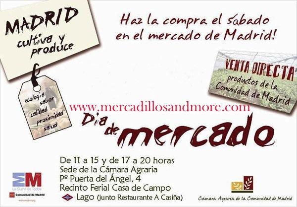 Disfrutando de madrid mercadillo de alimentaci n comunidad de madrid - Recinto ferial casa de campo madrid ...