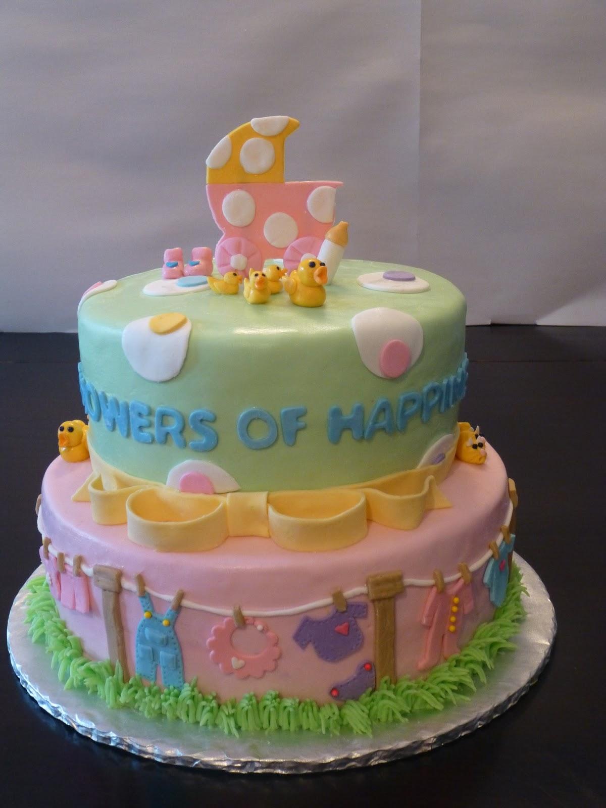 Baby Shower Cakes Utah ~ Classic cakes baby shower