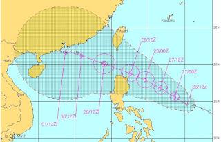 Tropischer Sturm DOKSURI (DINDO) bedroht Philippinen und Hong Kong, Philippinen, Hongkong, China, Doksuri, Dindo, aktuell, Taifunsaison 2012, Juni, Pazifik, 2012, Taifunsaison,