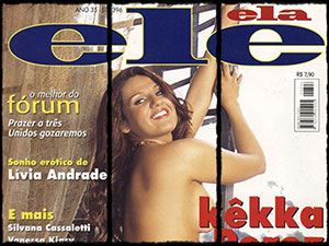 Kekka Perez Nua na Revista Ele Ela