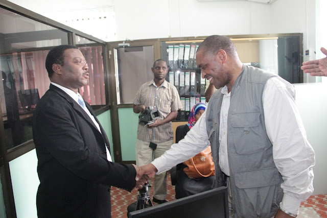 Ujumbe wa Maofisa wa Umoja wa Benki za Akiba Duniani Kanda ya Afrika Wakitembelea Zanzibar