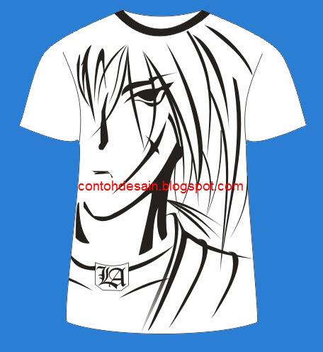Desain Kaos Online Paling Keren Samurai x