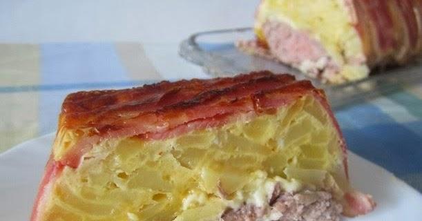 Rezetas de carmen pastel de carne picada y tortilla de patata - Bizcocho microondas isasaweis ...