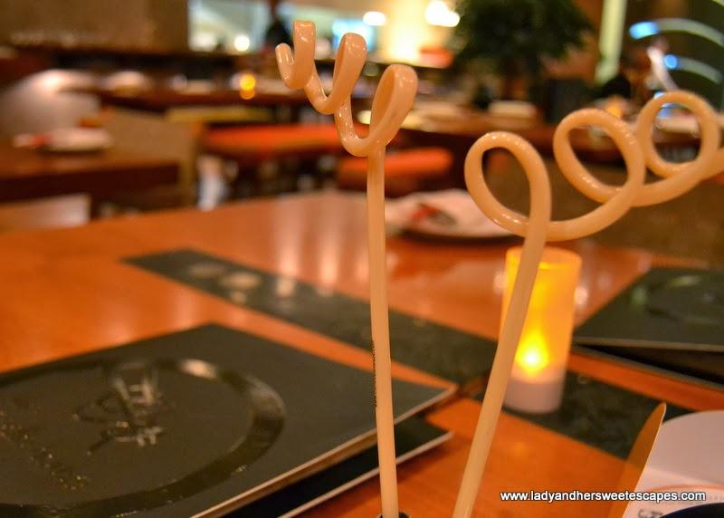 The Noodle House's funky noodle pen