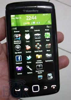 Torch 9850 BGR hand BlackBerry Torch 9850 Specs