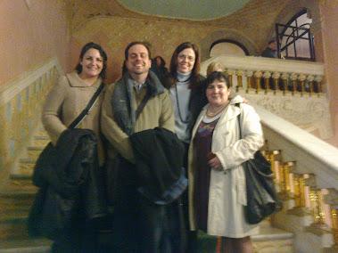 En el Palau de la Música Catalana Varem escoltar l'Evangeli de MARC