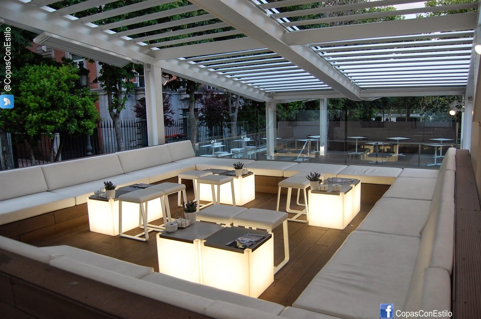Una copa con estilo en las terrazas del thyssen la - Terrazas con estilo ...