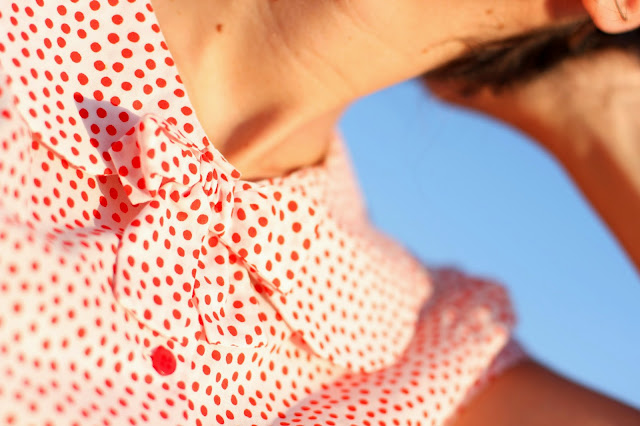 camisa lunares dots shirt