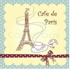 Menara Eiffel Cartoon