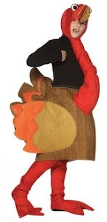 Turkey Child Costume