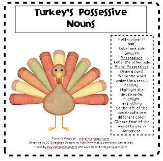 Turkey's Possessive Nouns