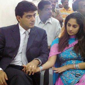 ajith latest pics in thala 55