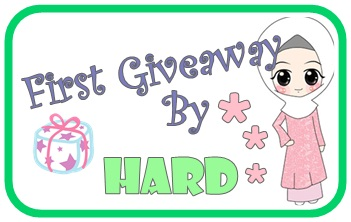 First Giveaway By Hard