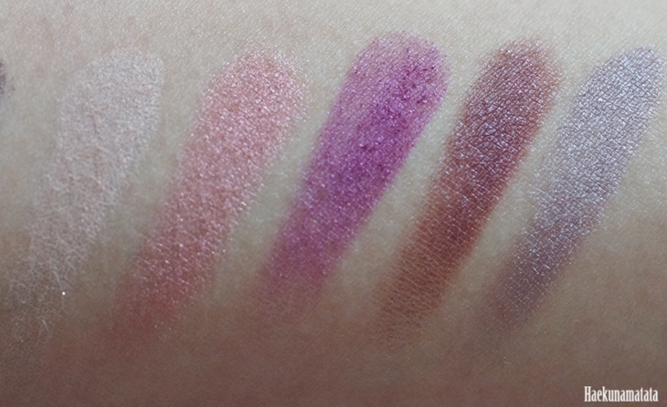 Urban Decay Vice 4 Palette Swatches2