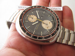 SOLD SEIKO SPEEDTIMER CHRONOGRAPH UFO - PART B - SEIKO 6138 - AUTOMATIC