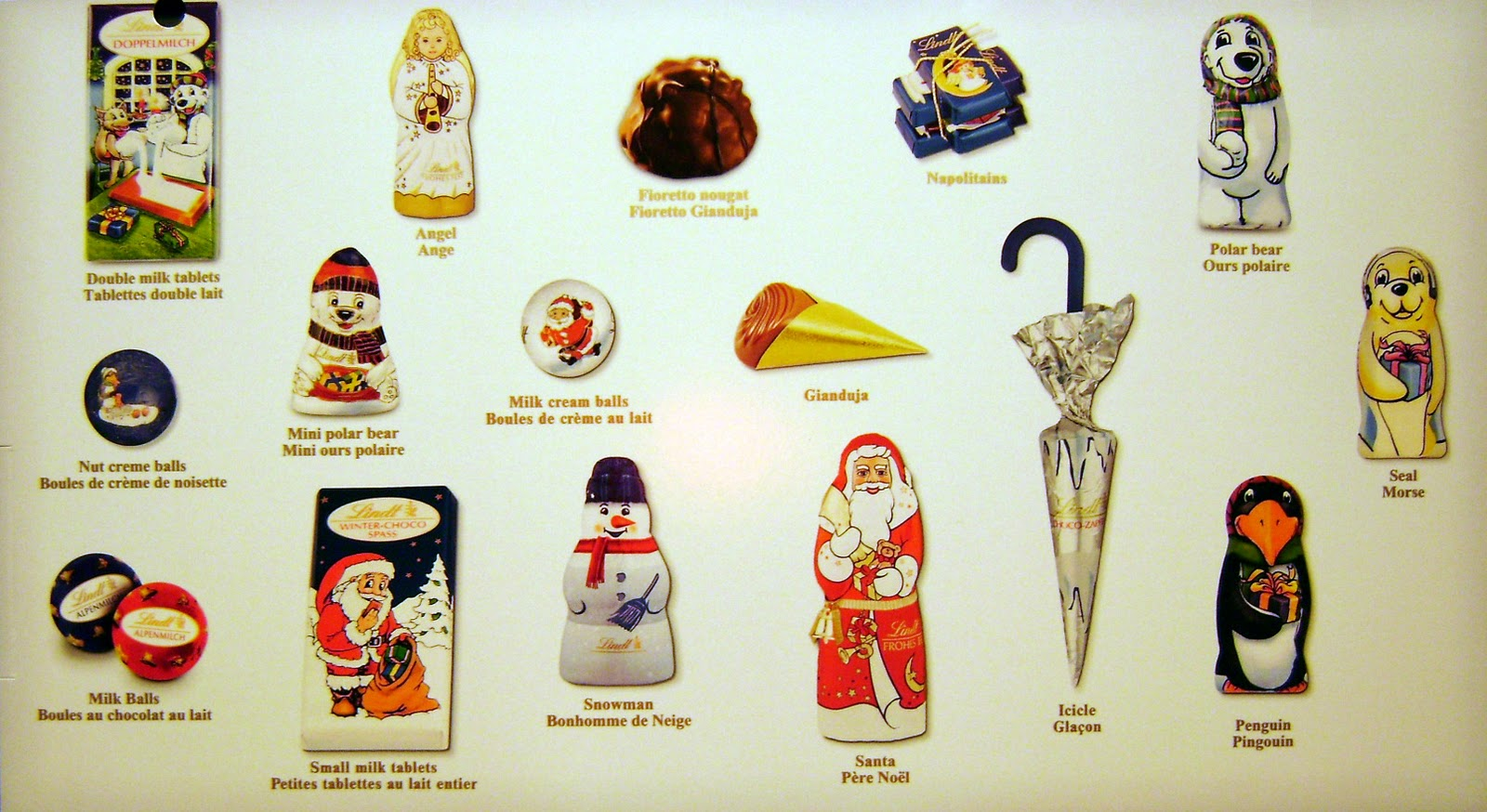 Lindt Chocolate Advent Calendar The chocolate cult: lindt chocolate ...