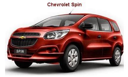 Daftar Harga Chevrolet Spin 2014