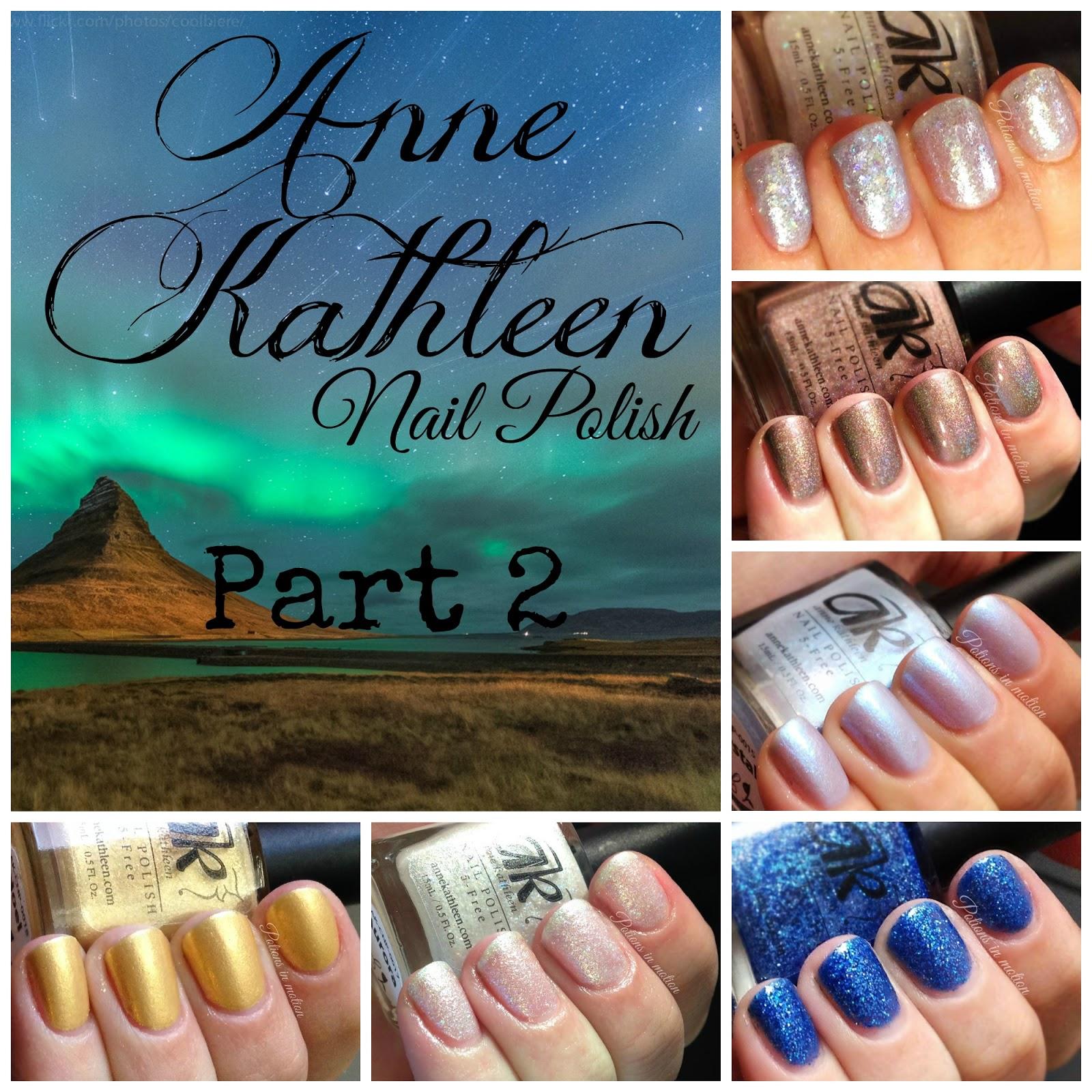 Potions in motion nail blog: Anne Kathleen Nail Polish, Yuletide ...