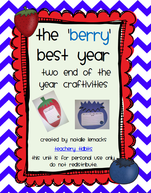 http://www.teacherspayteachers.com/Product/The-Berry-Best-Year-Two-End-of-the-Year-Craftivities-238985