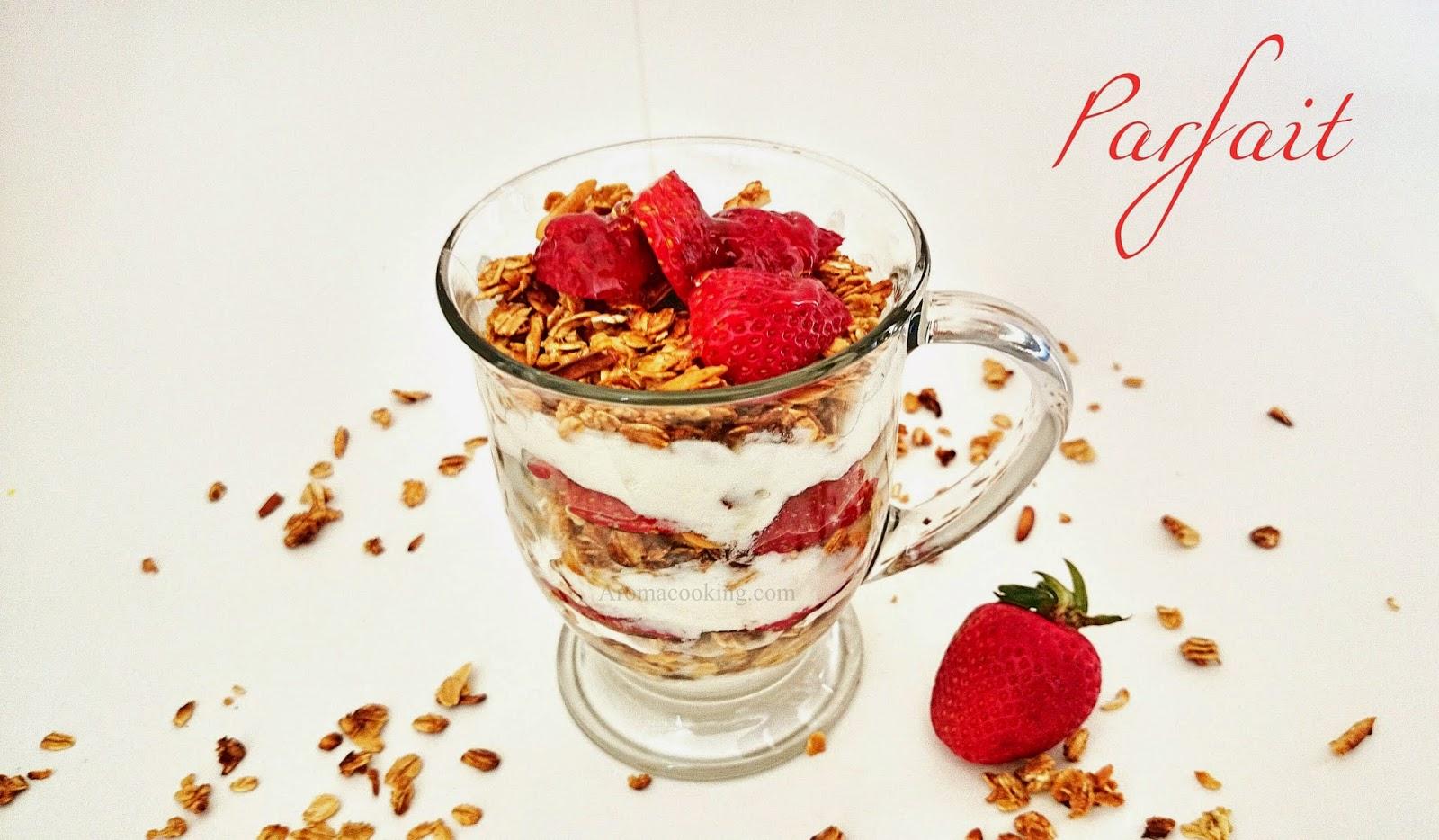 Strawberry Granola Prafait