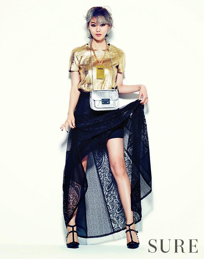 Yoon So Yi - Sure Magazine February Issue 2014