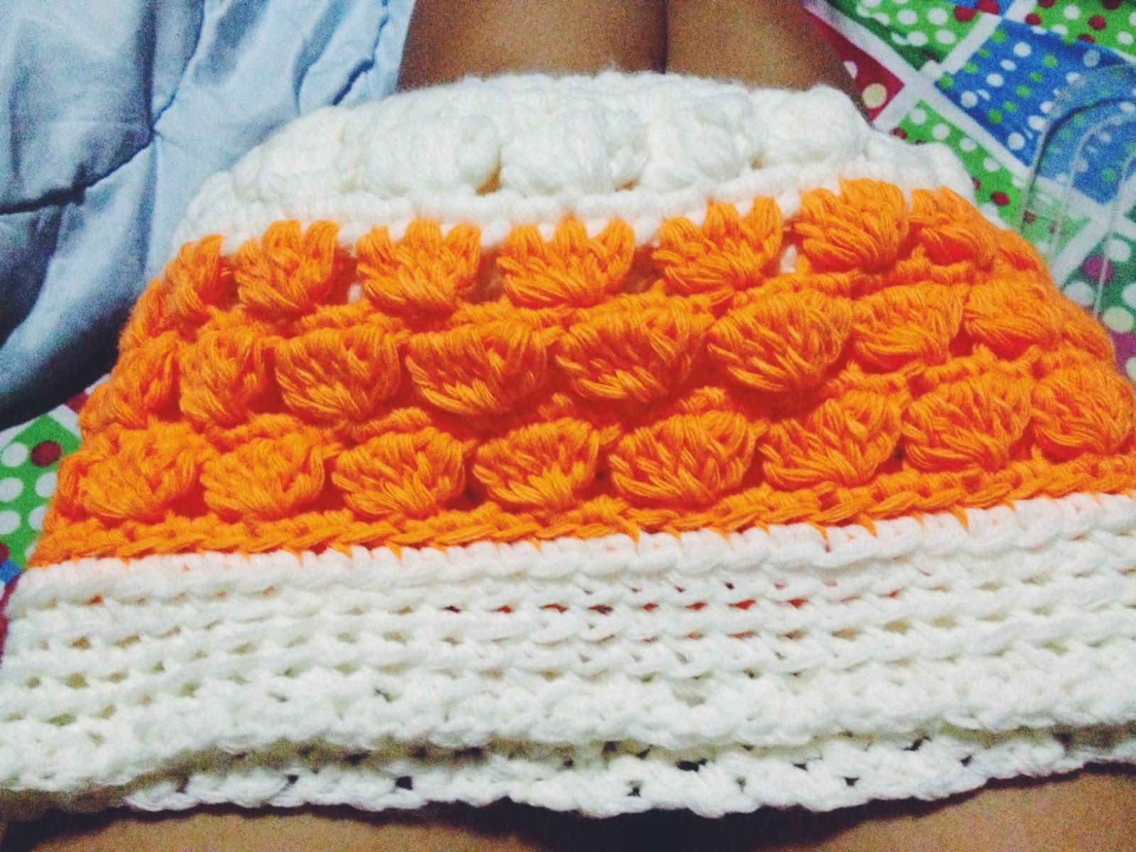 Cluster Crochet Beanie