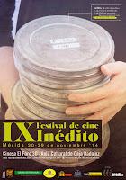IX Festival de Cine Inedito de Merida: Programacion