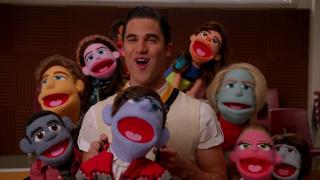 Glee 5x07. Puppet Master
