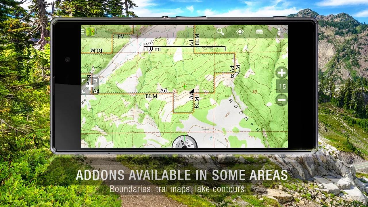 BackCountry Navigator TOPO GPS v5.4.8